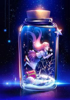 願をかける瓶 - TID - pixiv