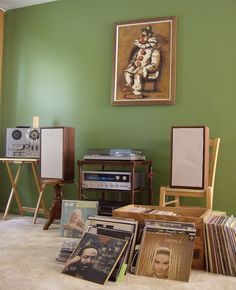 Great Wall Color, and Great Vintage Audio. This would make the boy go to vinyl heaven.