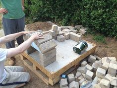 How to Make a Homemade Pizza Oven : 8 Steps (with Pictures) - Instructables Build A Pizza Oven, Diy Pizza Oven, Pizza Oven Outdoor, Pizza Ovens, How To Make Pizza, Outdoor Kitchen Bars, Outdoor Kitchen Design, Outdoor Kitchens, Fire Pit Pizza