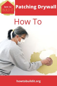 Homes have holes and hings in drywall. It just happens. But, they are ugly and just no fun to look at. So, what can you do about it? Patching drywall is simple and something every homeowner can learn how to do. Follow our easy guide and soon your wall will look like it was fixed by a pro. #patchingdrywall #homerepairs #DIYhomerepairs #patchingdrywallholes #howtobuilditblog Patching Drywall, How To Patch Drywall, Drywall Repair, Finish Carpentry, Diy Home Repair, Home Repairs, Stressed Out, Home Hacks, Simple House