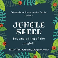 FUNtastyczny Angielski: Extremaly exciting game for ESL. English classes activities. FREE PRINTABLES