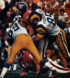 Jack Youngblood & Fred Dryer of the Los Angeles Rams
