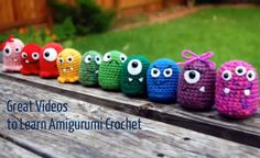 videos to learn amigurumi crochet