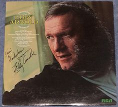 Eddy Arnold The Best Of Volume III LSP 4844 Original Recordings Autograph #EarlyCountryNashvilleSound
