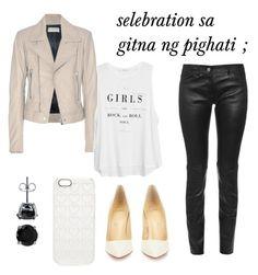 """selebration sa gitna ng pighati"" by original-casil21 on Polyvore featuring Balenciaga, Christian Louboutin, MANGO, Marc Jacobs and BERRICLE"