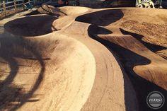 Schneider's Pump Track Mtb Trails, Park Trails, Mountain Bike Trails, Jump Park, Bmx Ramps, Rc Track, Pump It Up, Base Jumping, Bike Parking