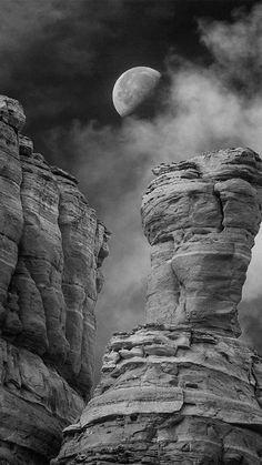 Half Moon over the Cockscomb in Arizona by James Petersen was the winning image in the Amateur Nature category of the 2015 Black and White Spider Awards. More winning images are featured in the January edition of Silvershotz - the online contemporary photography magazine.