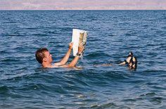 Dead Sea I've been in it!