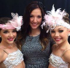 Kendall Vertes, Gianna Martello and Maddie Ziegler.