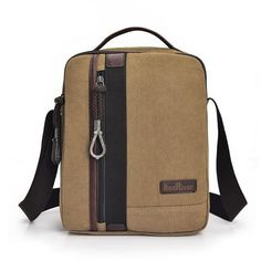 Men Casual Canvas Business Zipper Multi-pocket Shoulder Bags Crossbody Bags is hot-sale, many other cheap crossbody bags on sale for men are provided on NewChic. Canvas Messenger Bag, Messenger Bag Men, Crossbody Bags For Travel, Travel Bag, Over The Shoulder Bags, Casual Bags, Men Casual, Cross Body Handbags, Purses