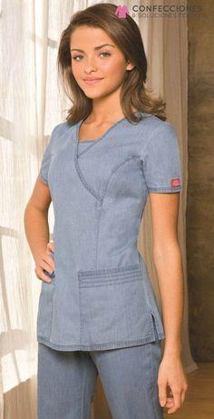 Camo Scrubs, Scrubs Outfit, Spa Uniform, Scrubs Uniform, Scrub Suit Design, Long Dress Fashion, Medical Uniforms, Medical Scrubs, Muslim Fashion