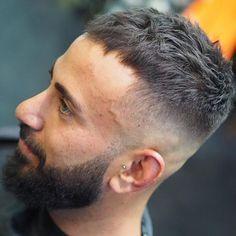 Popular Haircuts For Short Hair Men Undercut Hairstyles, Hairstyles Haircuts, Haircuts For Men, Thick Hairstyles, Short Cropped Hair, Short Hair Cuts, Short Hair Styles, Crop Haircut, Fade Haircut