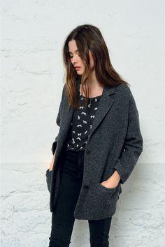 Manteau paula ombre - coat - des petits hauts 1