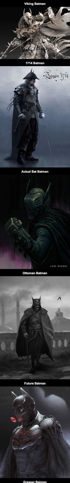 Awesome Alternate Fan Art Takes On Batman - Click to see all