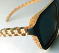 Skateboard Glasses love the pattern!