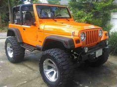 1998 Orange Jeep Wrangler Meer Sie sind an der richtigen Stelle für Of Jeep Tj, Jeep Wrangler Tj, Orange Jeep Wrangler, Wrangler Unlimited, Auto Jeep, Jeep Truck, Chevy Trucks, Chevy C10, Cars Motorcycles