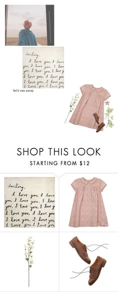 """""""fading into withering flowers"""" by xjooniechimsx ❤ liked on Polyvore featuring WALL, GET LOST, Petit Bateau, Madewell and vintage"""