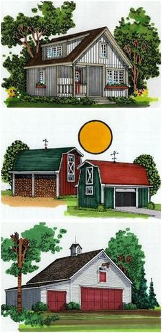 BackroadHomes.com - Find plans for country homes: cabins, cottages, barn homes, rental and camp cabins and garage apartments by some of America's best known country designers. You'll also find a wide assortment of plans for complementing country outbuildings: small barns, pole-barns, country garages, sheds, horse barns, tractor shelters and more.