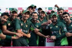 Umar Akmal's aggressive innings proved crucial in a low-scoring game as Pakistan beat Zimbabwe by 15 runs to win today's Twenty20 international at Harare Sports Club and sweep the two-match series.