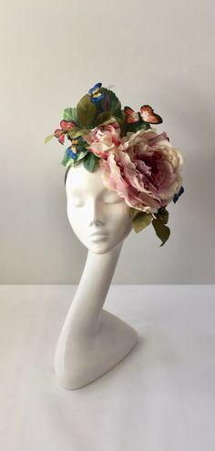 Millinery Hats, Fascinator Hats, Narrowboat, Flower Hats, Hats Online, Wedding Hats, Interior Ideas, Women Jewelry, Lady