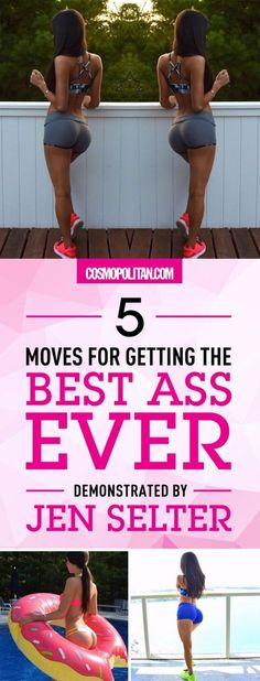 5 Moves for Getting the Best Ass Ever, Demonstrated by Jen Selter