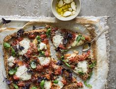 Anna Jones's recipe for mix-and-match pizzas with unusual bases | The modern cook