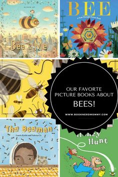 This list has our favorite picture books about bees. They are beautiful, informative, and a lot of fun. Reading Lessons, Writing Lessons, Kids Reading, Preschool Letter B, Bees For Kids, Bee Book, All Themes, Toddler Play, Learning Through Play