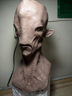 1:1 Scale Creature Design Bust by *misfitjake on deviantART