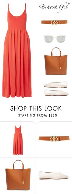 """Be.you.tiful ♥️"" by irish-eyes-were-smiling ❤ liked on Polyvore featuring Mara Hoffman, Dsquared2, Sophie Hulme, Vince, Polo Ralph Lauren, Spring, orange and beoriginal"
