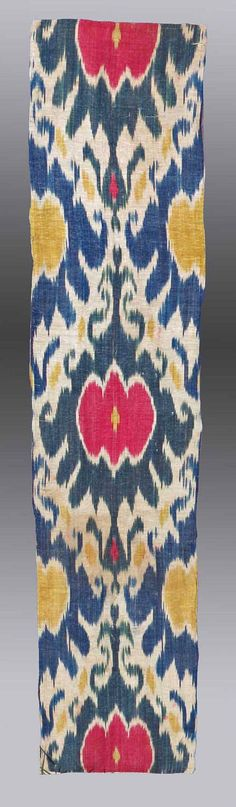 Antiguo Uzbekistán Asia Central IKAT  HOMEDECOR  envío