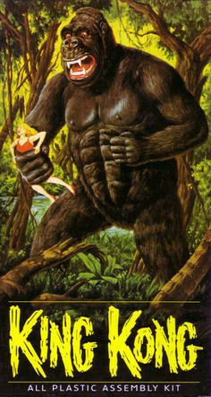 Toys in the Attic ...The Aurora 13  'King Kong' #10 Original Kit Issued: 1964 - 1968 Re-Issued: 1969-1975, 1992, 2000