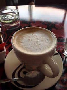 Coffee at Saints Burger Joint