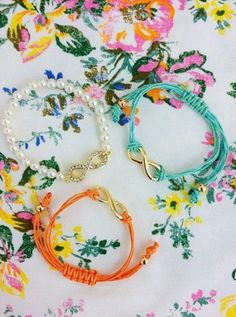 Bracelets that could be worn to college / work ! @limeroad.com take note pls ! :);)