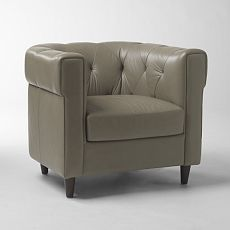 Chester Tufted Leather Chair