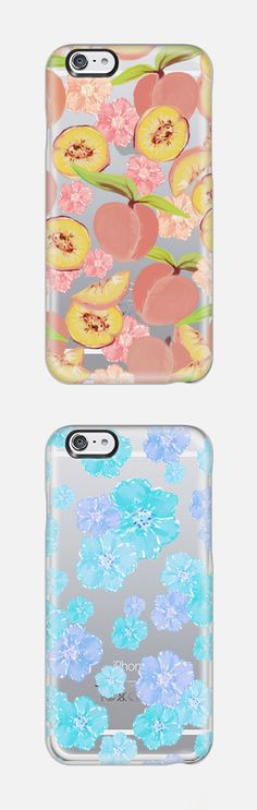 Peaches - Transparent Background Artist Collection iPhone 6 Phone Case by Lisa Argyropoulos @casetify, In Stock (Free Delivery Worldwide) www.casetify.com | Graphics | Painting |