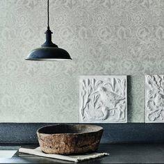 Papier peint discret, Morris&Co - Marie Claire Maison