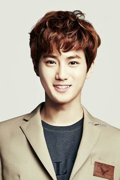 EXO's Suho in IVY Club for Back To School photoshoot.