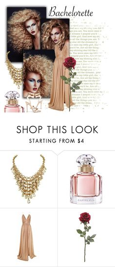 """""""G O L D"""" by color-dli on Polyvore featuring мода, Guerlain и The 2nd Skin Co."""