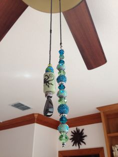 Ceiling Fan Pull Chain Broke Interesting Beaded Fan Pulls It's Not Every Day You Can Add Such A Funky Accent Design Decoration