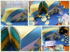 Diseño: Boca Juniors. Boca Jr, Facebook, Cooking, Square Cakes, Picture Wall, Fiestas, Kitchen, Brewing, Cuisine