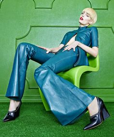 Zuzanna Bijoch In 'Green Gate' By Hong Jang Hyun For Singles Korea March 2015 - 3 Sensual Fashion Editorials | Art Exhibits - Women's Fashion & Lifestyle News From Anne of Carversville