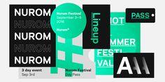 Nurom™ - Webfont & Desktop font « MyFonts