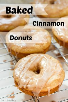Baked Cinnamon Donut Recipe