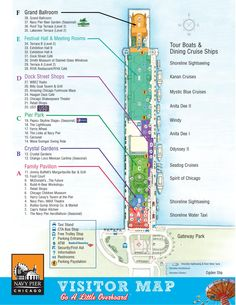 Navy Pier Visitor Map
