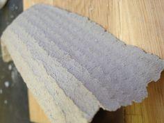 Experimental ceramic sponge mould