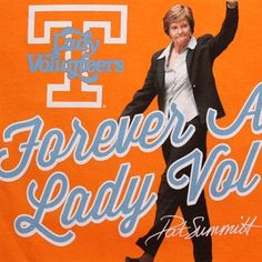 Tennessee Lady Vols Pat Summitt Vol Memories T-Shirt - Tennessee Orange