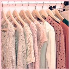Elle Fowler's closet.