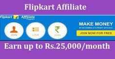 FlipKart Affiliate Se 25,000 Per Month Kaise Kamaye
