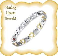 Health benefits include anti-fatigue, anti-radiation, gentle detox for mind and body, enhanced immune system, and improved blood flow 💕💖✨ Gentle Detox, Heart Bracelet, Bracelets, Healing Heart, Immune System, Ems, Health Benefits, 18k Gold, Flow