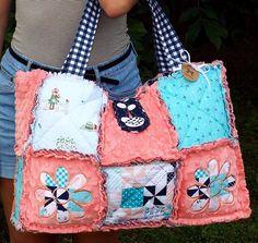 #weekender #handmade #etsy #diaperbag #babyshower #quiltedbag  jenniferandmandy.etsy.com